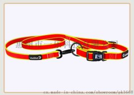 厂家现货直销PVC宠物用品双色牵引绳 狗狗牵引绳亚马逊爆款