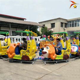 广场小型游乐北京赛车欢乐锤轨道火车厂家报价
