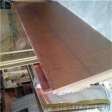 厂家直销铜板现货 高质镜面铜板 紫铜抛光板可加工
