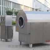 河北香油厂专用电磁加热芝麻炒货机