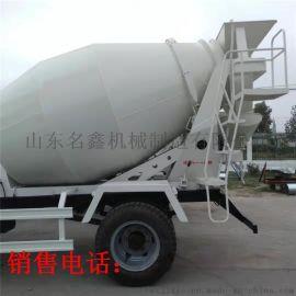 厂家现货4方混凝土攪拌車 工程建筑农用2方3方罐车