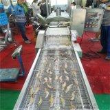 網帶式大蝦上漿機  實體研發推薦大蝦全自動上漿機