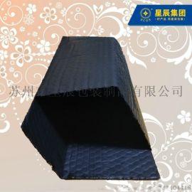 双面黑色导电膜复合气泡袋 电路板防静电减震包装袋