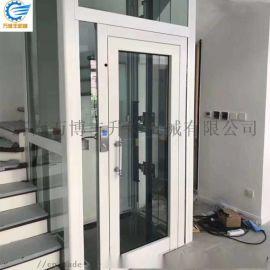 别墅电梯家用电梯二层室内室外家用电梯