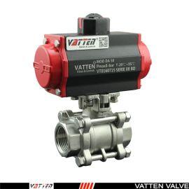 德国VATTENQ41F-16P 气动球阀中德合资上海工厂 气动螺纹球阀