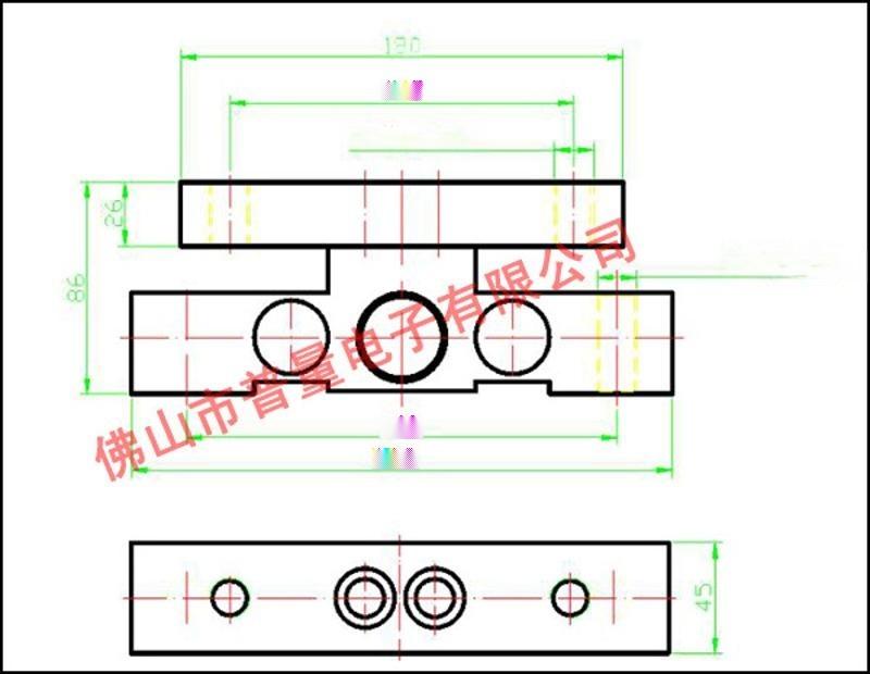 工字形稱重感測器 WPL111地磅感測器