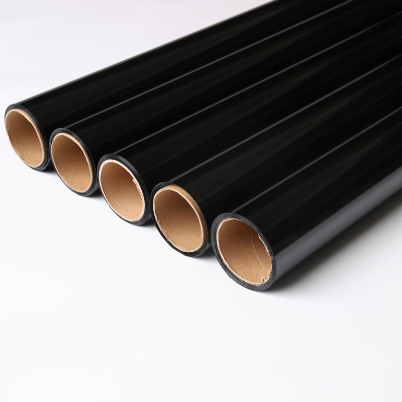 銷售黑色汽車太陽膜側後檔風玻璃防爆膜黑金剛