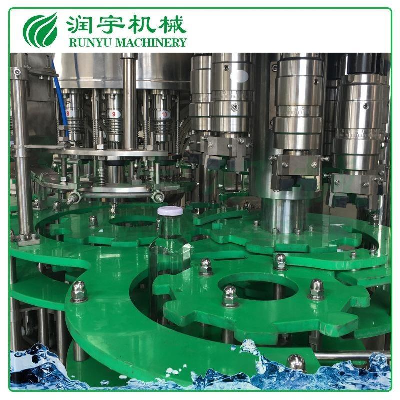 润宇机械厂家直销易拉盖果汁生产线,玻璃瓶果汁灌装机