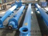 單管螺旋給料機 碳鋼提升機定做 大小管徑絞龍輸送機