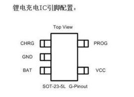 单节锂电充电管理芯片-AX4054