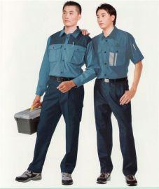 员工劳保工作服 可印字绣logo