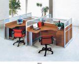 办公家具四4人位职员卡座屏风办公桌员工桌隔断电脑桌