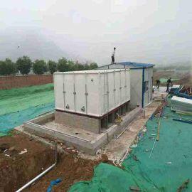 方形水箱组合式玻璃钢消防水箱