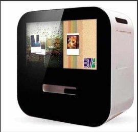 22寸微信照片打印广告机