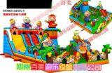 贵州猪猪侠儿童充气滑梯爆笑来袭,百美新款气包