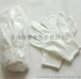 有底气的棉纱手套用了安全舒心结实好用集芳品牌