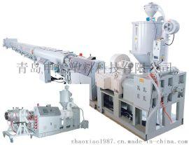 申德PP-R, PP, PE 单层或多层供水管材生产线
