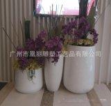 花钵玻璃钢组合 室外 欧式立体圆形方形装饰花钵