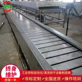 定做链板输送机 不锈钢链板流水线 环形链板线自动化配套输送设备