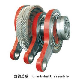 青州泥浆泵配件曲轴总成