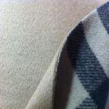 YD9874毛涤粗纺双面呢面料