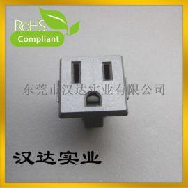 美规器具插座 米老鼠插座 三孔插座 梅花插座 DB-F-M