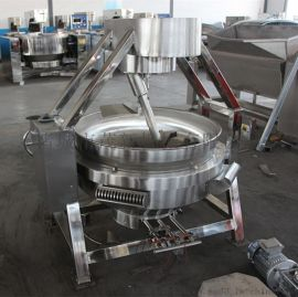 厂家直销100L燃气 手动行星搅拌炒锅 餐厅设备 各种酱料炒锅