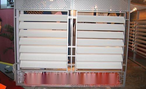 门头铝合金百叶-门头装饰铝百叶