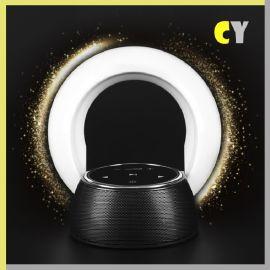 **新款创意充电音箱小台灯 无线蓝牙欧式便携式音响小夜灯