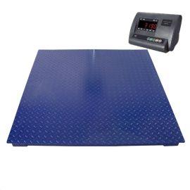 1.2*1.5米1-3吨电子地磅单层无框型电子小地磅