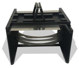 专业加工 6寸晶圆载具Wafer Carrier 耐高温防静电晶圆切割 划片金属载具
