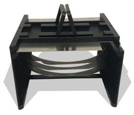 專業加工 6寸晶圓載具Wafer Carrier 耐高溫防靜電晶圓切割 劃片金屬載具