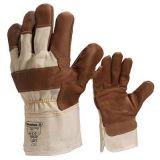 代爾塔 204605 白色全棉帆布耐磨手套