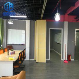现代中式办公室活动隔断 会议室移动隔墙 款式多样 风格各异厂价定制