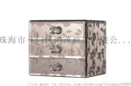 鸿茂玻璃厂家家居装饰首饰盒首饰装饰盒收纳盒摆件