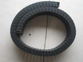 机床专用拖链 全封闭钢铝拖链 加强型塑料拖链厂家包邮