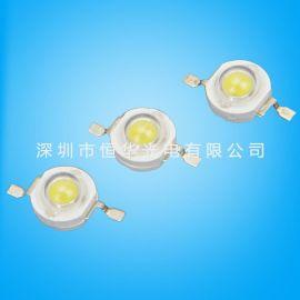 1w大功率 LED灯珠 三安芯片35*35 光通量100-110LM