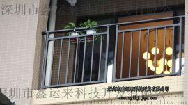 组装式锌钢阳台护栏深圳无焊接工艺阳台护栏生产厂家