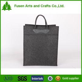新品简约时尚毛毡手提袋收纳袋 礼品购物袋储物袋收纳袋环保袋