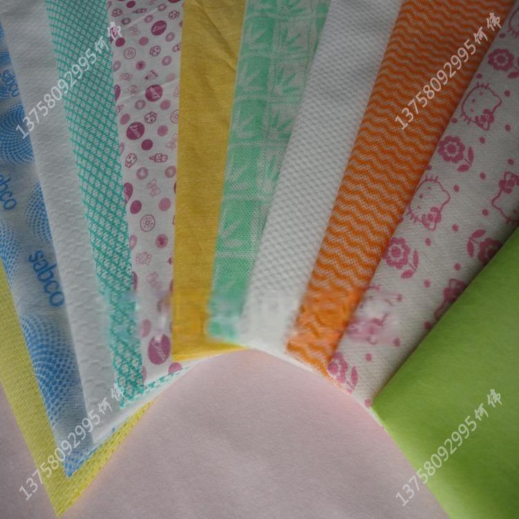 供應水刺無紡布 可定做各色無紡布 生產廠家新價直銷多規格無紡布