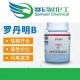 罗丹明B 玫瑰红B 分析纯AR25g/瓶CAS: 81-88-9 厂家现货批发