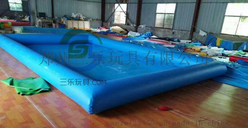 陕西汉中儿童游乐充气沙池钓鱼池供应