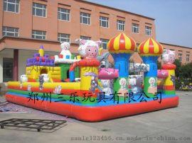 小型充气城堡儿童蹦蹦床河北保定游乐设备