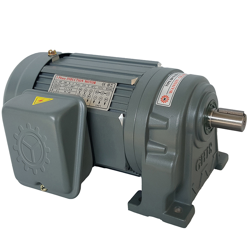 宇鑫200W35-95比22轴卧式单相减速电机