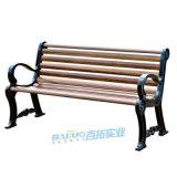 厂家直销户外园林椅休闲实木椅铸铝休闲靠背园林座椅