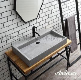 精磨石盆、水泥盆、個性臺盆、安東尼奧衛浴