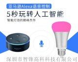 Amazon Alexa语音控制灯泡 wifi球泡灯 智能灯泡 RGB七彩智能灯泡