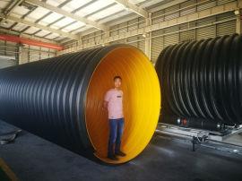 钢带管 大口径钢带波纹管 排水排污管 规格齐全