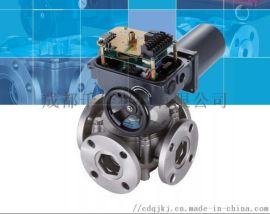 台湾SHIDAR欣达不锈钢电动五通阀电动三通阀