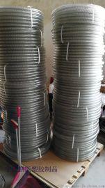 供应食品级pu塑料管透明钢丝平滑管